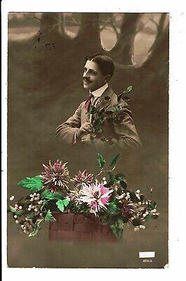 CPA - Carte Postale-Un jeune homme amoureux  en 1916 VM5480