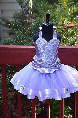 Princess Sophia The First inspired tutu dress costume (lavender/white) - Sophia First Birthday
