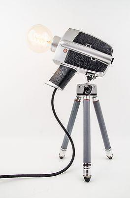 """Kamera Lampe Super 8 """"Bauer"""" - Dimmbar"""