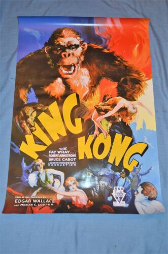 "Vintage Movie Poster, ""King Kong"" Reproduction"