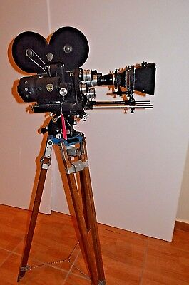 MITCHELL 16mm Pro Motion Picture Camera Many Extras refurbished #1D