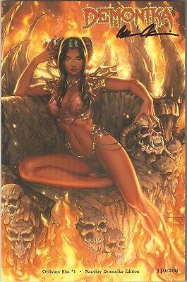 Lady Death Oblivion Kiss 1  Naughty Demonika Edition  Sabine Rich Cover