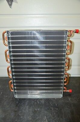 Greenheck Hw58s01b13-24x18-rh Hot Water Booster Coil 58 Tube 24x18 Fin 2 Feed