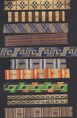 Werbung 1925, Zigarren-Kisten-Verpackung, 10 Streifen Tabak