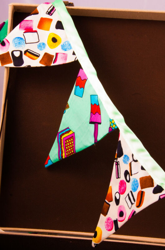 Bunting created by Alice Cook Designs