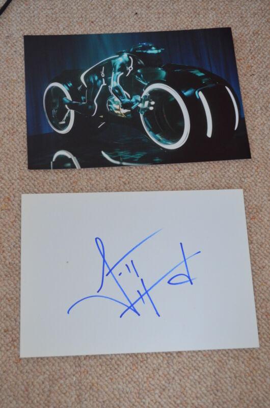 GARRETT HEDLUND signed Autogramm 20x30 cm TRON LEGACY