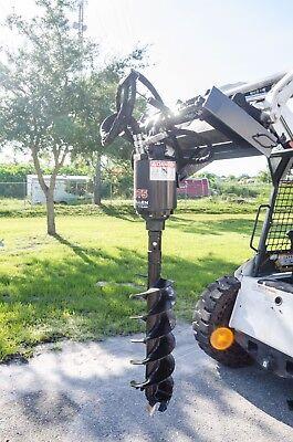 Skid Steer Auger Pkg W30 Auger Bitall Gear Drive Mcmillen X1975 Fits All
