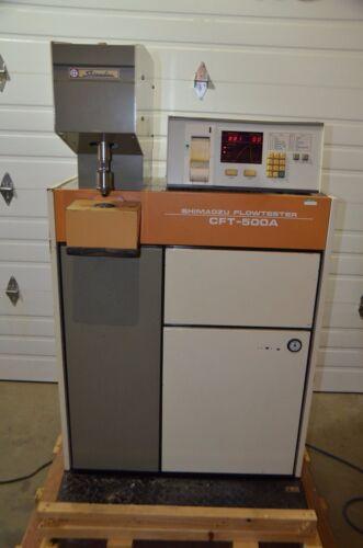 Shimadzu Flowtester Cft-500a Capillary Rheometer