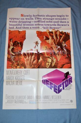 "Vintage Movie Poster, ""The Defector"" (1966)"