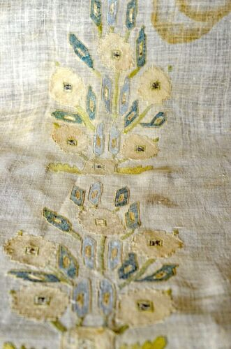 Antique Hand Embroidered OTTOMAN PANEL UU947