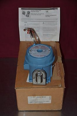 United Electric E121-2bsb Ue 120 Temperature Switch 30 To 250f Setpoint Range
