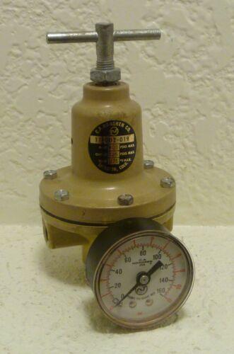Norgren Pneumatic Pressure Regulator 11-002-019 400 PSIG Inlet 125 Outlet +Gauge