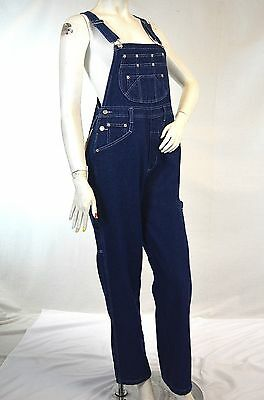 Vintage Overalls & Jumpsuits Lady RURACO jeans denim bib overalls  Classic Size XS-XXL inseam 30-33 $25.95 AT vintagedancer.com