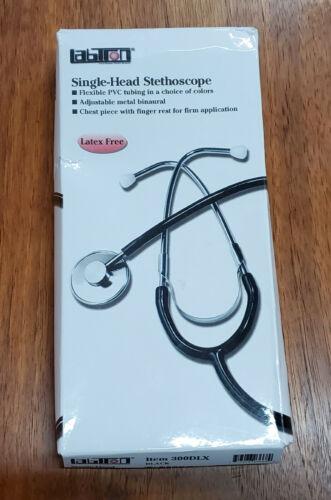 NEW Labtron Large Single Head Stethoscope Factory Box Stethiscope Estetoscopio