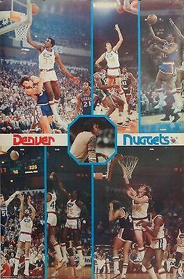 Denver Nuggets Dan Issel 23x35 Collage NBA Poster Bi Rite