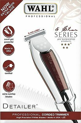 Detail Trimmer (WAHL WIDE DETAILER 5 STAR TRIMMER FÜR EXTREM KURZE HAARSCHNITTE 0,4 MM - 4,5 MM )