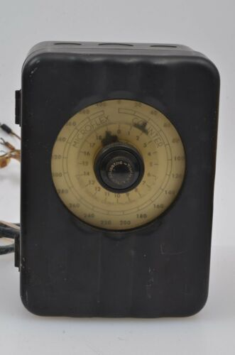 VINTAGE - ANTIQUE MICROFLEX COUNTER