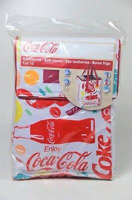 - EZetil Kühltasche Coca Cola Fun 15 Liter Soft Cooler  2 x 440g Akkus