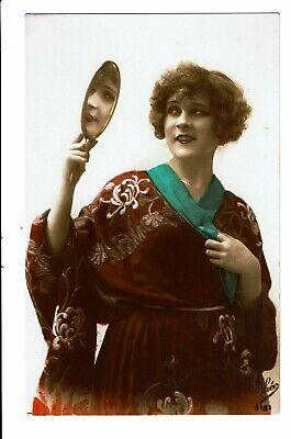 CPA - Carte postale - Belgique - Dame avec son miroir -VM3845