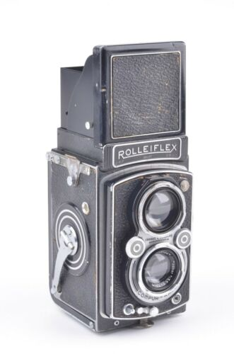 ROLLEIFLEX AUTOMAT 6x6 MODEL 2 K4B TLR, WORKS, SOME ISSUES *READ DETAILS