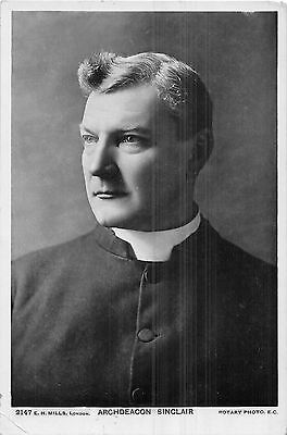 POSTCARD  RELIGION   Archdeacon   Sinclair