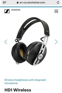 Sennheiser HD1 Wireless Headphones - Black