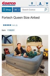 Air beds from Costco