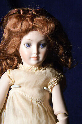 LAURA DARLING PETITE ALL BISQUE YOUNG LADY DOLL SWIVEL WAIST Alberta's Doll Mold