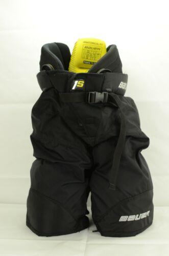 Bauer Supreme 1S Ice Hockey Pants Junior Size Extra Large Black (0909-407)