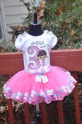 Doc Mcstuffins Birthday Outfit (Doc Mcstuffins birthday)