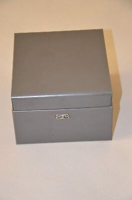 Vintage Hon Card File Box 3.5 X 5 Cards
