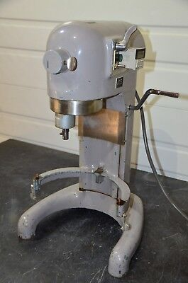 Hobart C-100-g 10 Qt Table Top Mixer W Omron H3ca-a Programmable Digital Timer