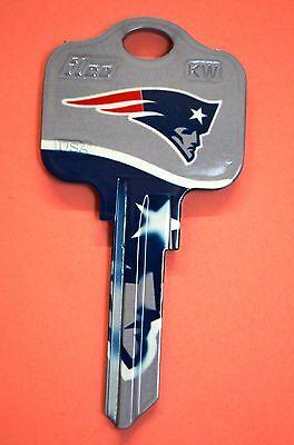 New England Patriots Gift Ideas (🏈 Gift Idea NFL NEW ENGLAND PATRIOTS KWIKSET KW1, KW10, KW11 UNCUT KEY)