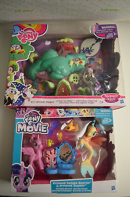 Twilight Sparkle Halloween (2 Playsets: My Little Pony Golden Oak Library & Princess Twilight &)