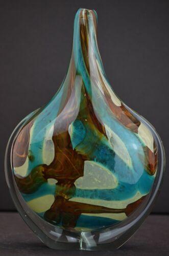 Stunning MDINA Maltese Malta Art Glass Vintage Vase