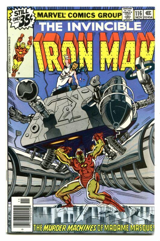 IRON MAN # 116
