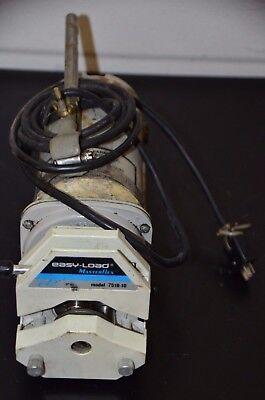 Cole Parmer 7553-80 Pump Drive With 7518-10 Masterflex Head 0-100 Rpm