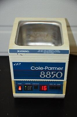 Cole-parmer 8850-34 Digital Ultrasonic Cleaner  Tested Guaranteed
