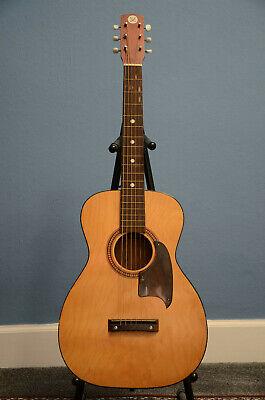 RARE! 60s 70s Vintage Sears & Roebuck Model 319.1209 Acoustic Guitar & Hard Case
