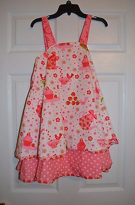 Jelly the Pug Girls 10 Cake Patty Party Dress from Chasing Fireflies NWOT Patty Cake Dress