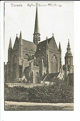 CPA-Carte postale-Belgique -Veurne - Furnes -Eglise Ste Walburge-- S540
