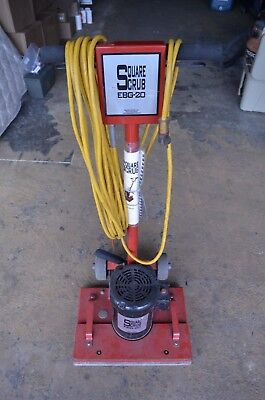 Square Scrub Ebg-20 Surface Prep Floor Sanding Buffer Machine
