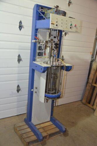 LH Fermentation 2000 Series 2000/II System Fermenter Reactor w/ QVF Vessel