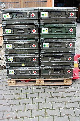 original Zarges Bundeswehr Kiste Transportkiste Aufbewahrungskiste Alukiste A5
