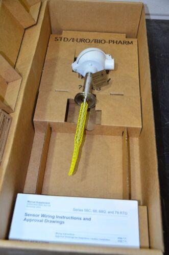Rosemount 68Q 0068QC11U060L150 Sanitary Temperature Sensor RTD