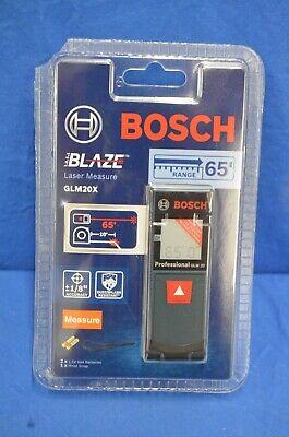 Bosch Glm20x Blaze 65 Ft. Laser Distance Measurer