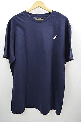 Men's Nautica Navy Dusk Short Sleeve T-Shirt Size XXL/2XL