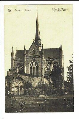 CPA-Carte postale-Belgique - Veurne - Furnes -Eglise Ste Walburge-1932- S538