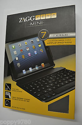 Zagg Zag Zaggkeys 7 Case For Apple Ipad Mini W/ Bluetooth...