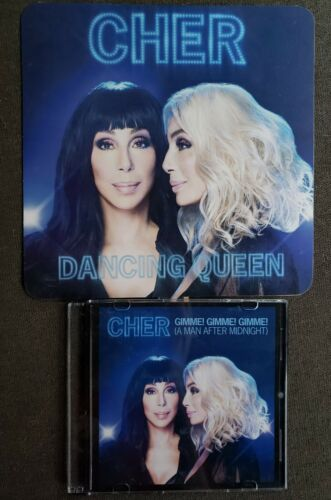 Cher Gimme Gimme Gimme Authentic DJ Promo CD With Promo Fan - $30.00